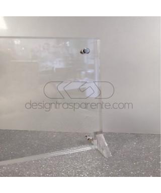 Cornice Su Misura 90x70 in plexiglas trasparente  totem da terra