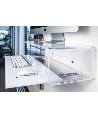 "Acrylic console for iMac 27"""