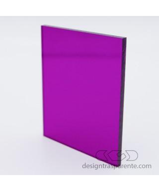 Planchas Metacrilato Violeta Transparente 420 láminas y paneles a medida