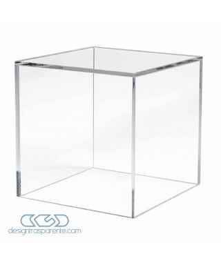 OFFERTA teca 60x35H60 vetrina su misura in plexiglass SCONTO 50
