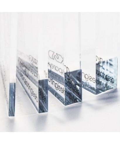 Pannello in plexiglass 80x30 taglio sega un foro