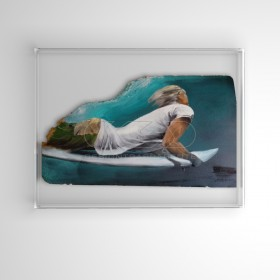 65x65 cm canvases and pictures protection box acrylic frame