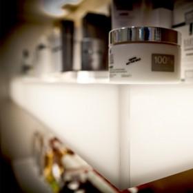 Acrylic shelves 100x20