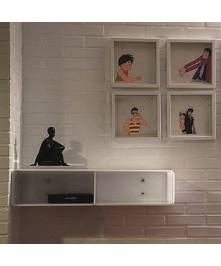 Acrylic entrance consolle