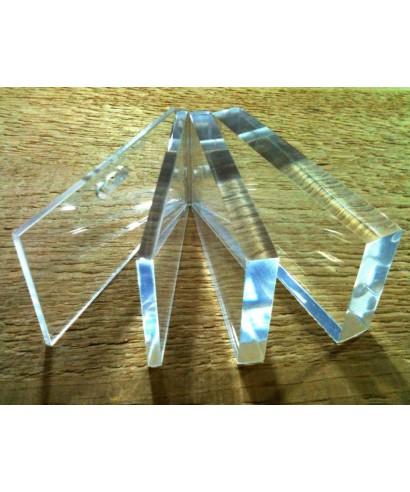Lastre di plexiglass su misura trasparente spesore mm 3