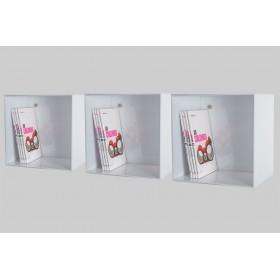 3 cubi 30x30 p.20 spessore 5mm