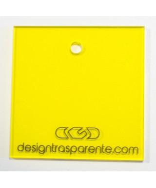 Lastra plexiglass giallo trasparente