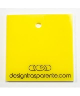 Lastra plexiglass giallo opaco