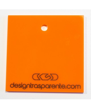 Lastra plexiglass arancione opaco