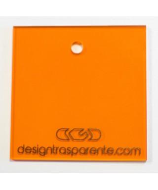 Lastra plexiglass arancione trasparente 710 acridite