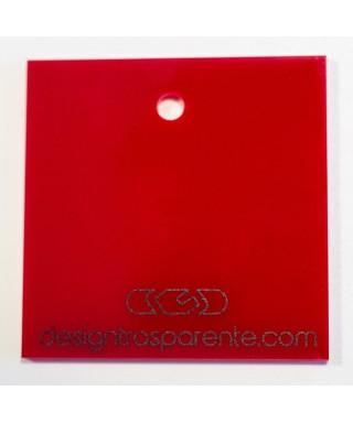 Lastra plexiglass rosso opaco
