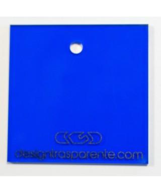 Lastra plexiglass blu trasparente acridite 520
