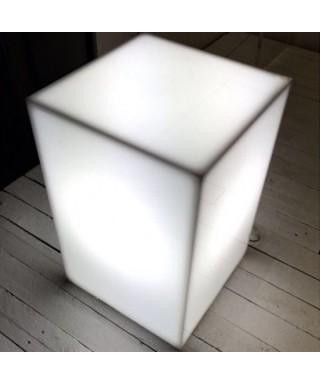 Cubo luce comodino luminoso