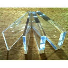 Lastra plexiglass trasparente