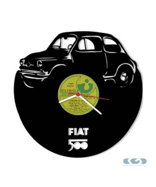 Orologio vinile 33 giri - Fiat 500