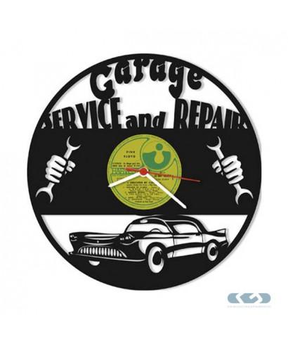 Orologio vinile 33 giri - Garage