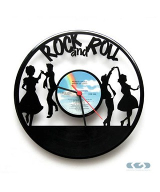Orologio vinile 33 giri - Rock and Roll