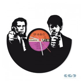 Watch 33 rpm vinyl - Pulp Fiction