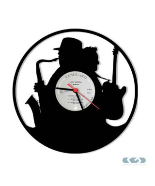 Orologio vinile 33 giri - Sax
