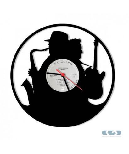 Orologio vinile 33 giri - Batteria