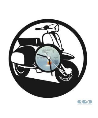 Orologio vinile 33 giri - Vespa
