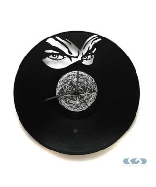 Orologio vinile 33 giri - Diabolik