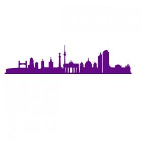 Skyline sticker - Berlin