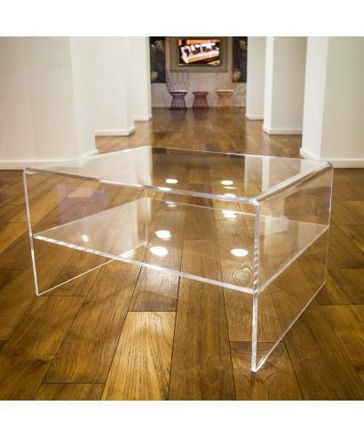 Tavolini Da Salotto In Plexiglass Prezzi.Tavolo Salotto 90x40 H 35