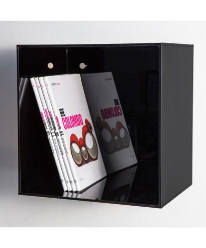 Acrylic wall cube shelves 30x30x20