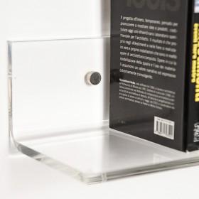 Mensola 50x20 in plexiglass trasparente alto spessore