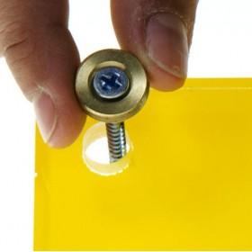 Estante 15x10 bandeja vaciabolsillos en metacrilato con llavero magnetico
