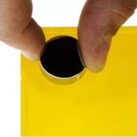 Mensola 15x10 svuotatasche in plexiglass e portachiavi magnetico