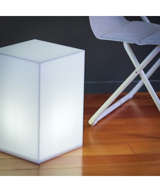 Tavolino luminoso 30x30 h:45