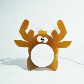 Lampada Elk per bambini in plexiglass colorato