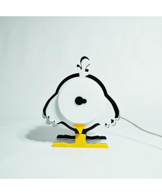 Lampada Chick per bambini in plexiglass colorato