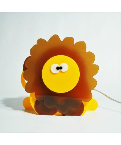 Lampada Lion per bambini in plexiglass colorato