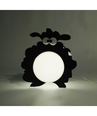Lampada Black Sheep per bambini in plexiglass colorato