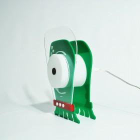 Lampada Alien per bambini in plexiglass colorato