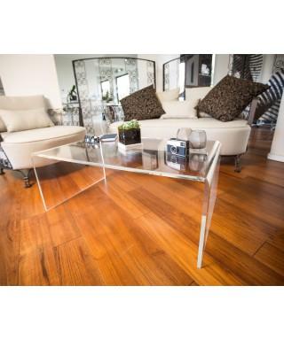 Acrylic coffee table cm 90x80 lucyte clear side table plexiglass