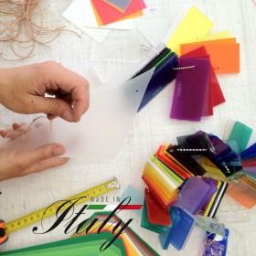 Targa in plexiglass su misura stampa personalizzata 20x20
