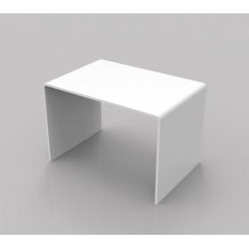 Acrylic coffee table 60x40 h:40