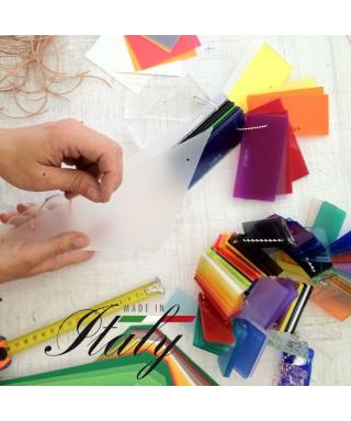 Ebay - plexiglass mm 3 opalino cm 75x50 8 pezzi