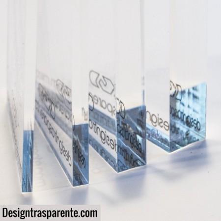 Lastre e pannelli in plexiglass trasparente e colorato taglio a misura