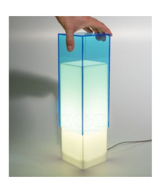 Acrylic table lamps
