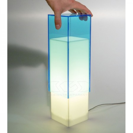 Acylic table lamp