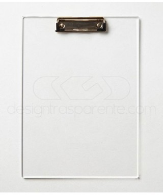 Acrylic folder clipboard A4