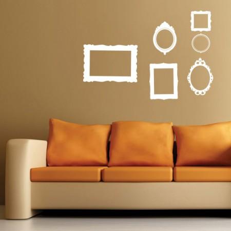 Wall stickers: cornici adesive per muro