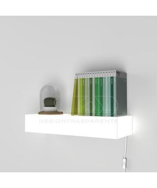 Illuminated shelfs