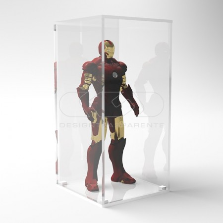 Teche in plexiglass per modellismo già montate con e senza base