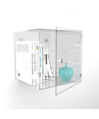 Cubi vetrina con sportello